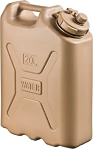Scepter 5 Gallon True Military Water Container, Sand