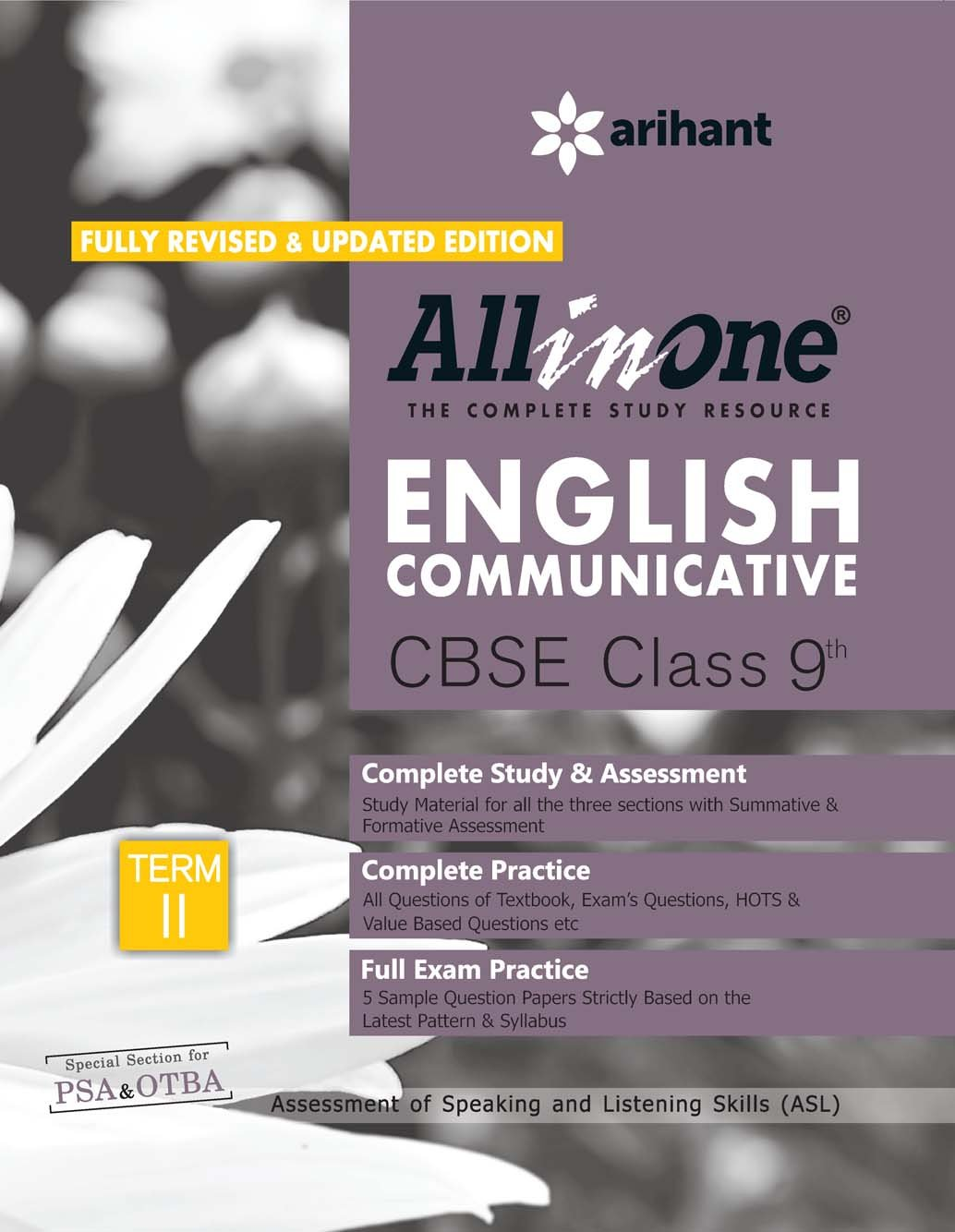 All in One English Communicative CBSE Class 9th Term-II Old