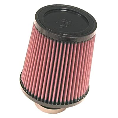 K&N Universal Clamp-On Air Filter: High Performance, Premium, Washable, Replacement Filter: Flange Diameter: 2.5 In, Filter Height: 6.5 In, Flange Length: 2 In, Shape: Round Tapered, RU-4860: Automotive