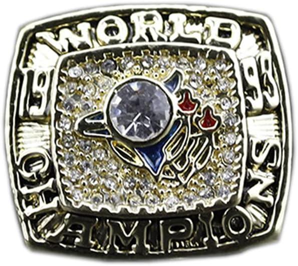 WSTYY 1993 Toronto Blue Jays Hansen Baseball Championship Ring Anillos de Hombre, Championship réplica Personalizado Diamantes para Hombres,Without Box,11#