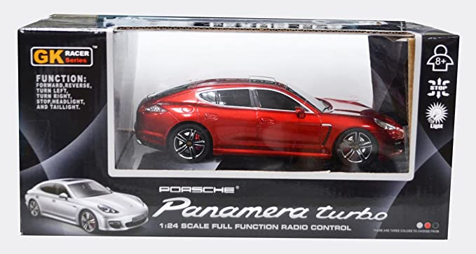 1/24 RC Car Porsche Panamera Red (japan import): Amazon.es: Juguetes y juegos