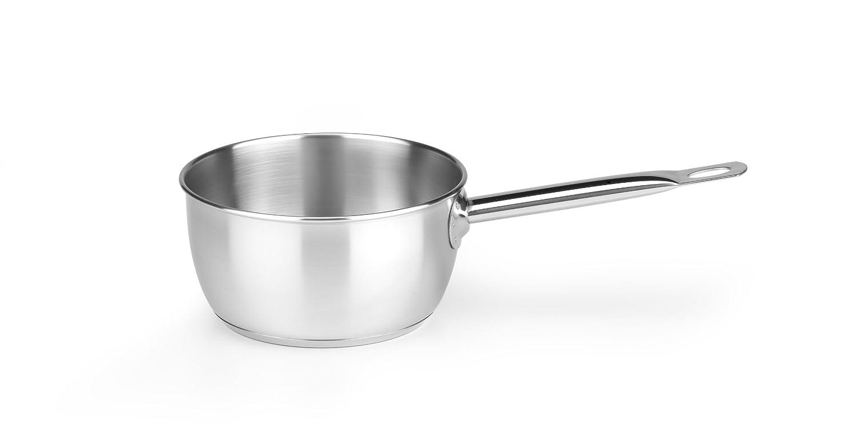 Monix Chef - Menaje de 7 Piezas de Acero Inoxidable 18/10, Apta para Todo Tipo de cocinas incluídas de inducción
