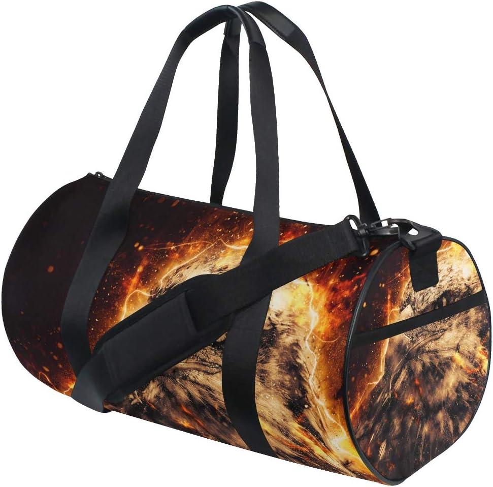 Sports Gym Duffel Barrel Bag You Can Be Otter Travel Luggage Handbag for Men Women