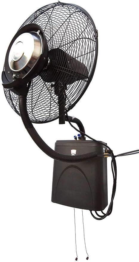 Ofresh - 077 - Ventilador de agua pulverizada de pared, de alto rendimiento: Amazon.es: Hogar