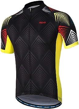 Maillot Bicicleta Hombre, Maillot Ciclismo Hombre, Camiseta y ...