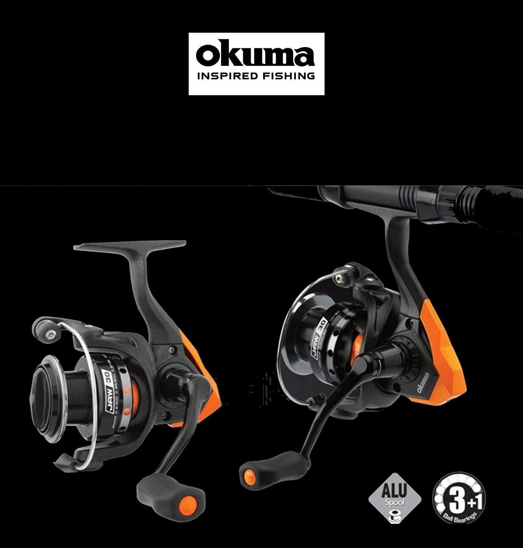 Okuma Mandíbula Carrete Spinning Frontal 45 Fd Modelo Lucio Perca ...