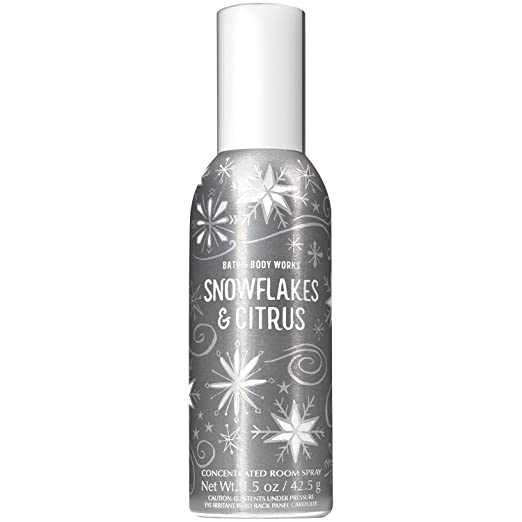 Amazon.com: Bath and Body Works Snowflakes and Citrus Concentrated Room Spray 1.5 Ounce (2018 Edition): Home & Kitchen