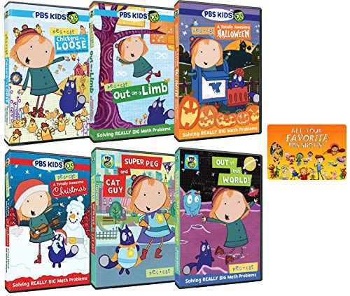 Peg + Cat: PBS TV Series Complete 22+ Episodes plus Special Features Collection ()