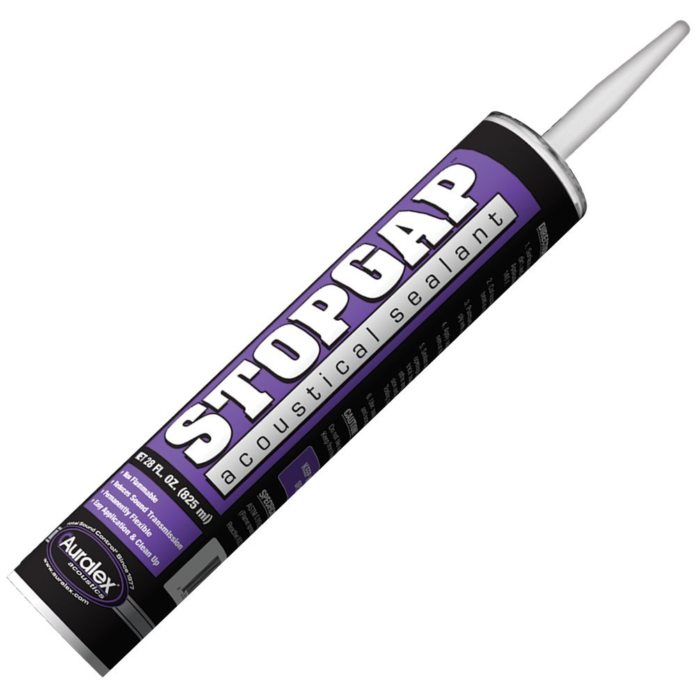 Auralex Acoustics STOPGAP Acoustical Sealent - Water-based Sealant for Sound Transmission Reduction ( Packaging may vary )