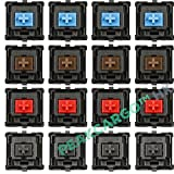 16 pcs. Set CHERRY MX Series Keyswitches Keymodule (Blue, Red, Brown, Black) Mechanical Keyboard Switches Replacement