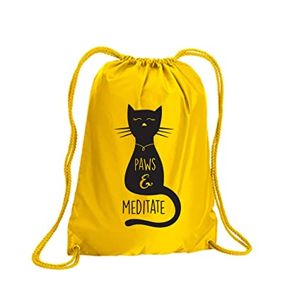 Paws & Meditate Cinch Pack well-wreapped