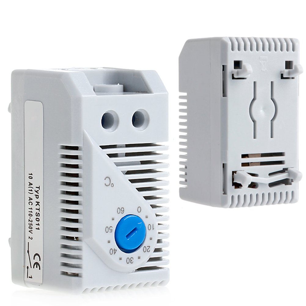 Termostato mec/ánico compacto 0-60 /ºC Qiulip KTS011