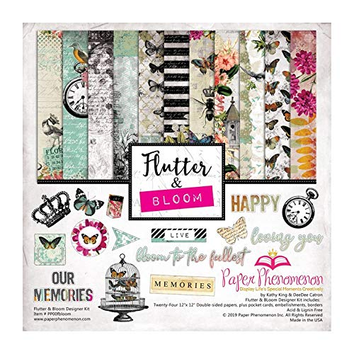 Flutter & Bloom Paper Collection