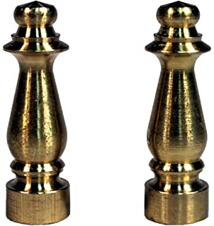 Amazon creative hobbies ely505 solid brass finial for lamp creative hobbies ely1465 solid brass finial for lamp shades 1 12 inch tall mozeypictures Gallery
