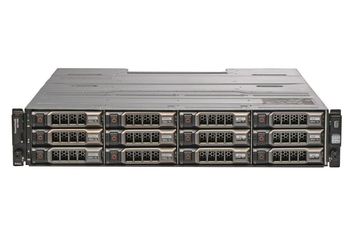 MD1200 PowerVault Storage Array 12x 4TB 7.2K NL Redundant EMMs (Renewed) by Dell