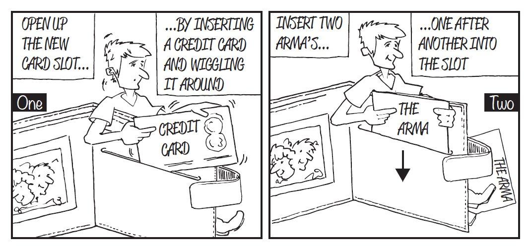Protegge la sua carta d identit/à e carte di credito da Scams /& furto Shields 6/blocco RFID Cards L arma ultra-sottile alternativa a RFID guardia e protezioni Fits all in /& portafogli