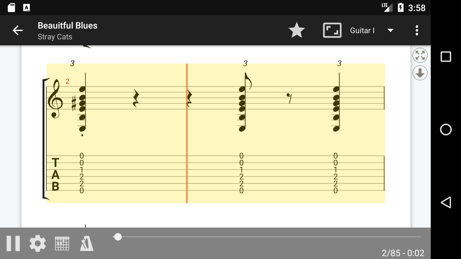 Amazon Guitartab Pro Tabs And Chords Appstore For Android