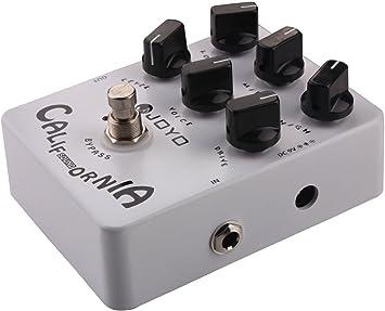 Amazon.com: Joyo JF-15 California Efectos de sonido Pedal ...