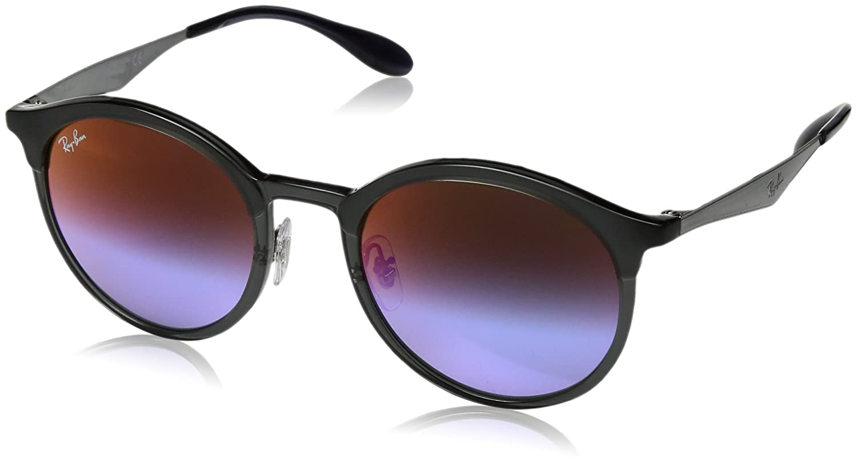 f159f3141 Óculos de Sol Ray Ban Emma Rb4277 6324b1/51 Cinza - Lente Violeta Espelhado  com Azul Degradê: Amazon.com.br: Amazon Moda