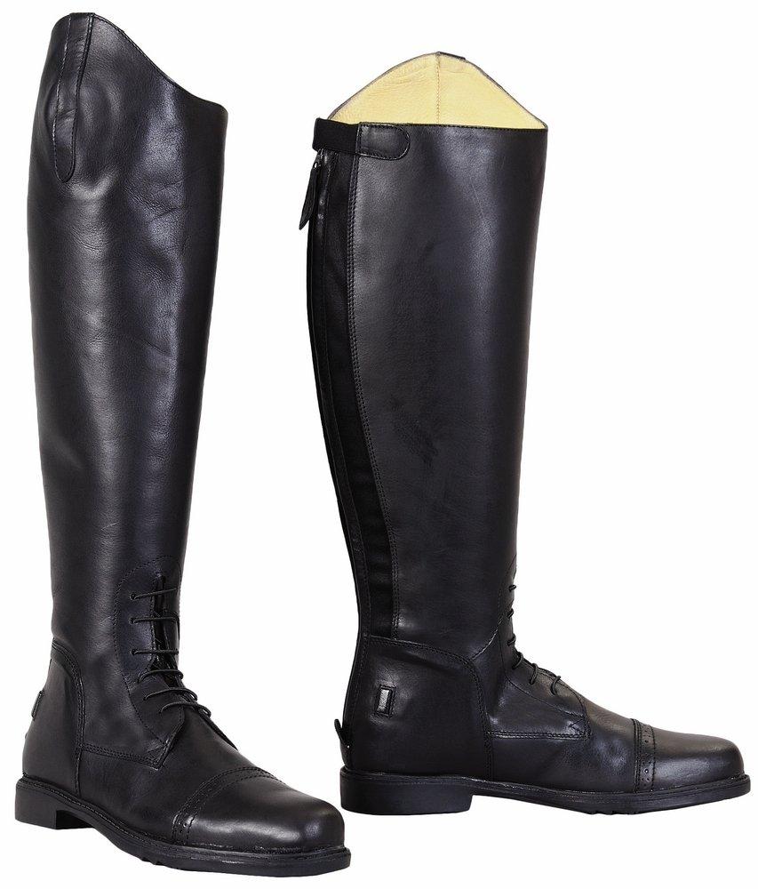 TuffRider Men's Baroque Field Boots, Black, 105 Regular by TuffRider