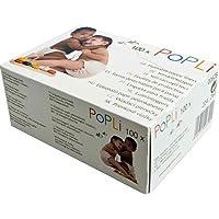 """'Popolini–Pañales""""popli plástico para pañales, color blanco"""