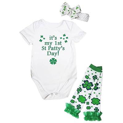 Petitebelle - Body - Bébé (fille) 0 à 24 mois Vert blanc