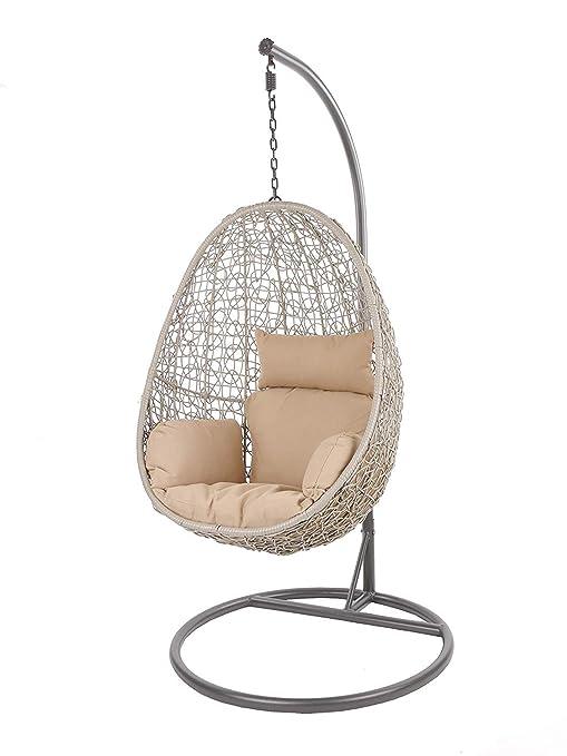 Kideo Swing Chair Sillón Colgante Hamaca Sillón de Descanso ...