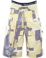 Dry Dudz Men's Hybrid Sunrise Beach Combo Boardshorts