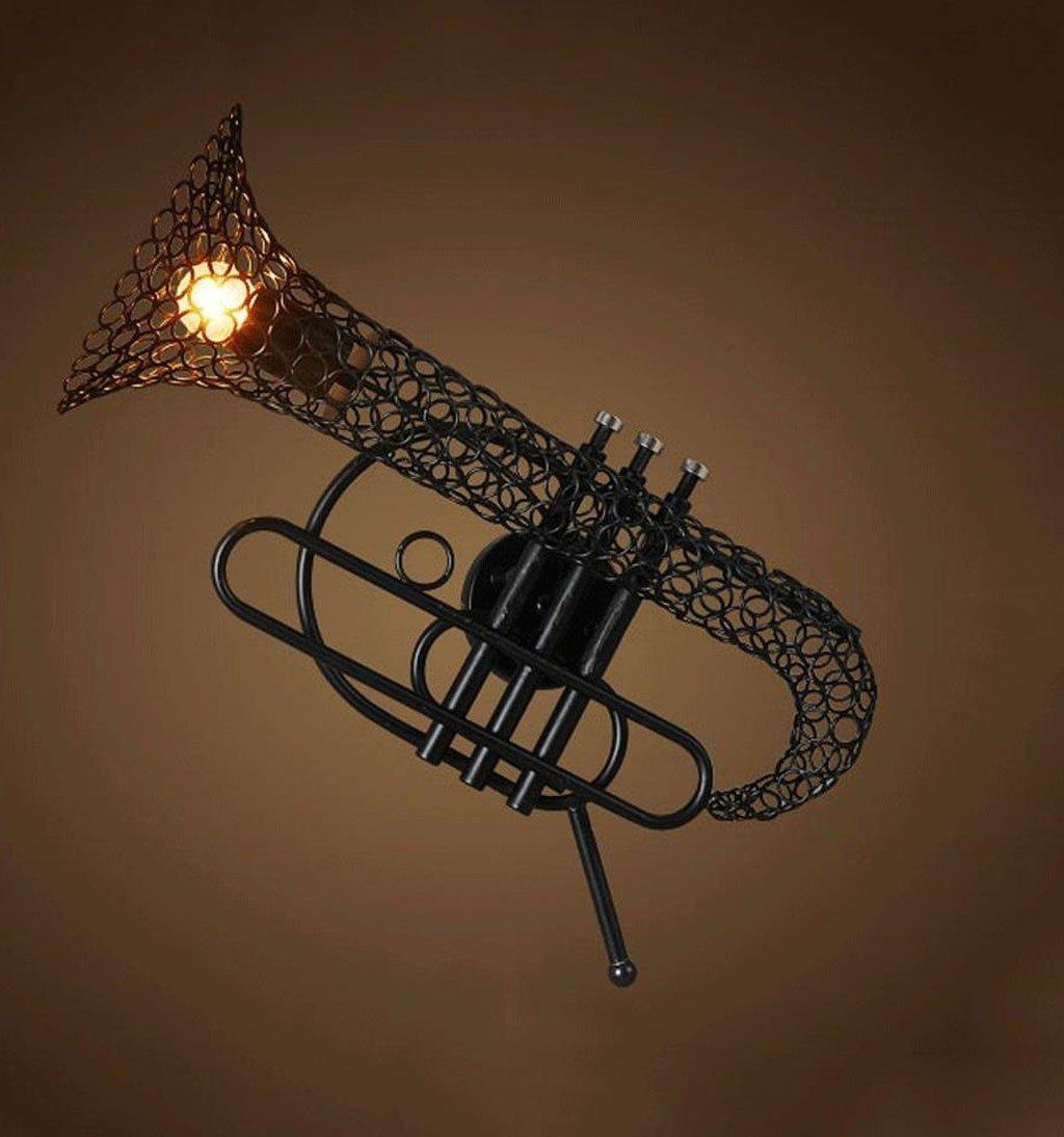 ZYN Iron Art Wall Light - Creative Sachs Light Personality Bar Cafe Decorative Wall Light E27 Light Source