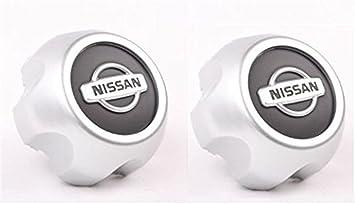 yongyong218 Juego de 2 tapacubos centrales para Nissan Xterra Frontier 2000 – 2004 (2 Unidades