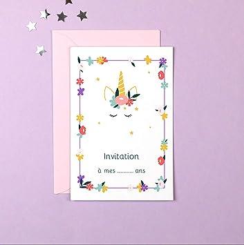 Remarquable popcarte 16 Cartes d'invitation Anniversaire Fille avec 16 AZ-51