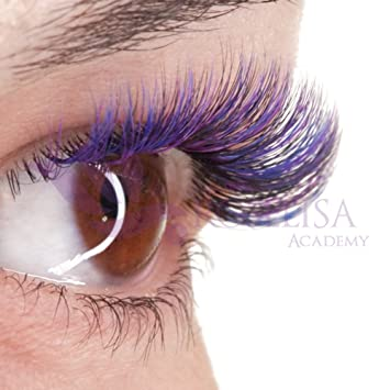 927ab6bff49 Volume Eyelash Extensions 3Dvlashes Colored Lashes C and D Curl, Trays of  One Length Available