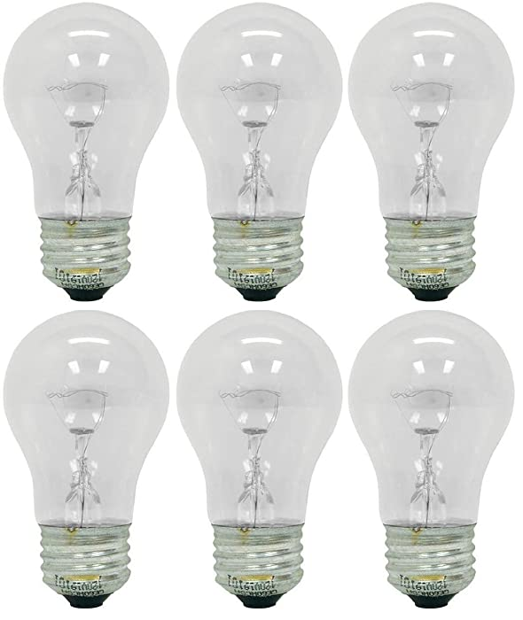 Top 10 Ge Appliance Bulb 40W Bulb Type S11