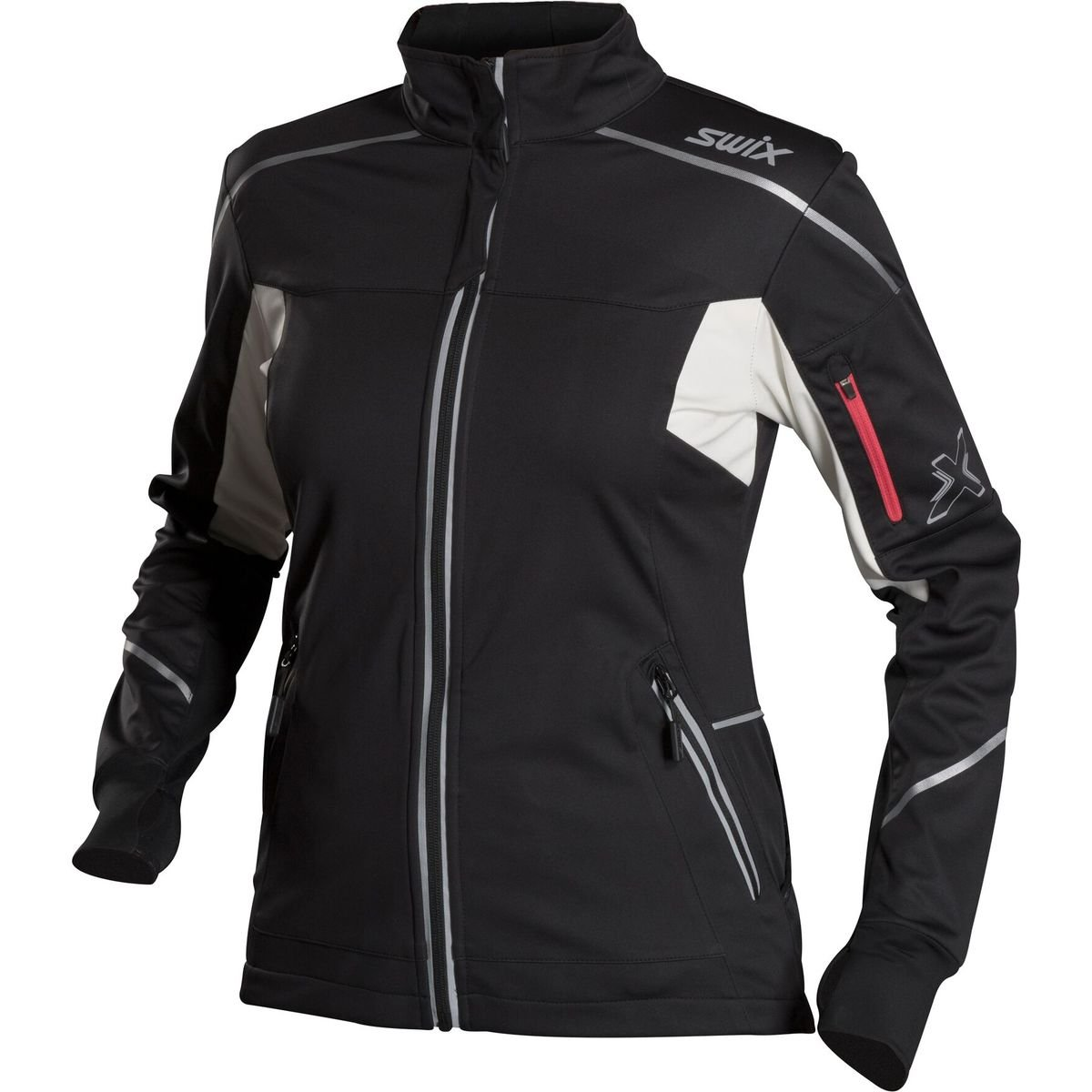 Swix Delda Light Softshell Jacket - Women's Black, L