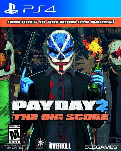 Top 10 recommendation payday 2 big score 2019