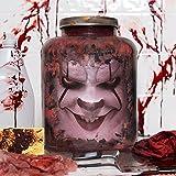 """Hillary Clinton Head in Jar - """"Killary"""" --- Halloween / Horror / Political /Funny / Gag / Novelty / Decor / Prop"""