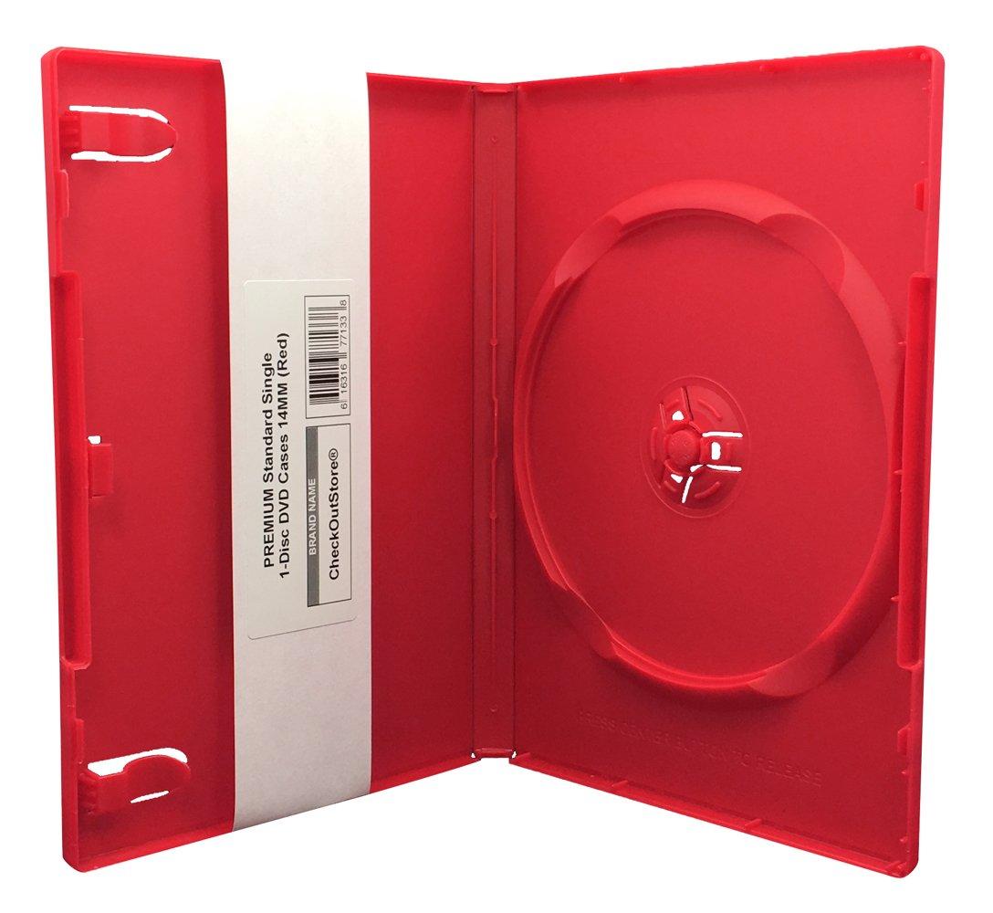 amazon com checkoutstore 100 premium standard single 1 disc dvd
