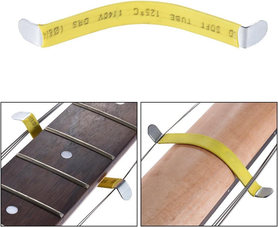 ammoon Separador de Cuerdas de Guitarra Trastes de Luthier Cuerdas Polacas Herramienta Separada de Metal para Folk Classic Acoustic Guitarras Eléctricas Bajo Reparar Mantenimiento