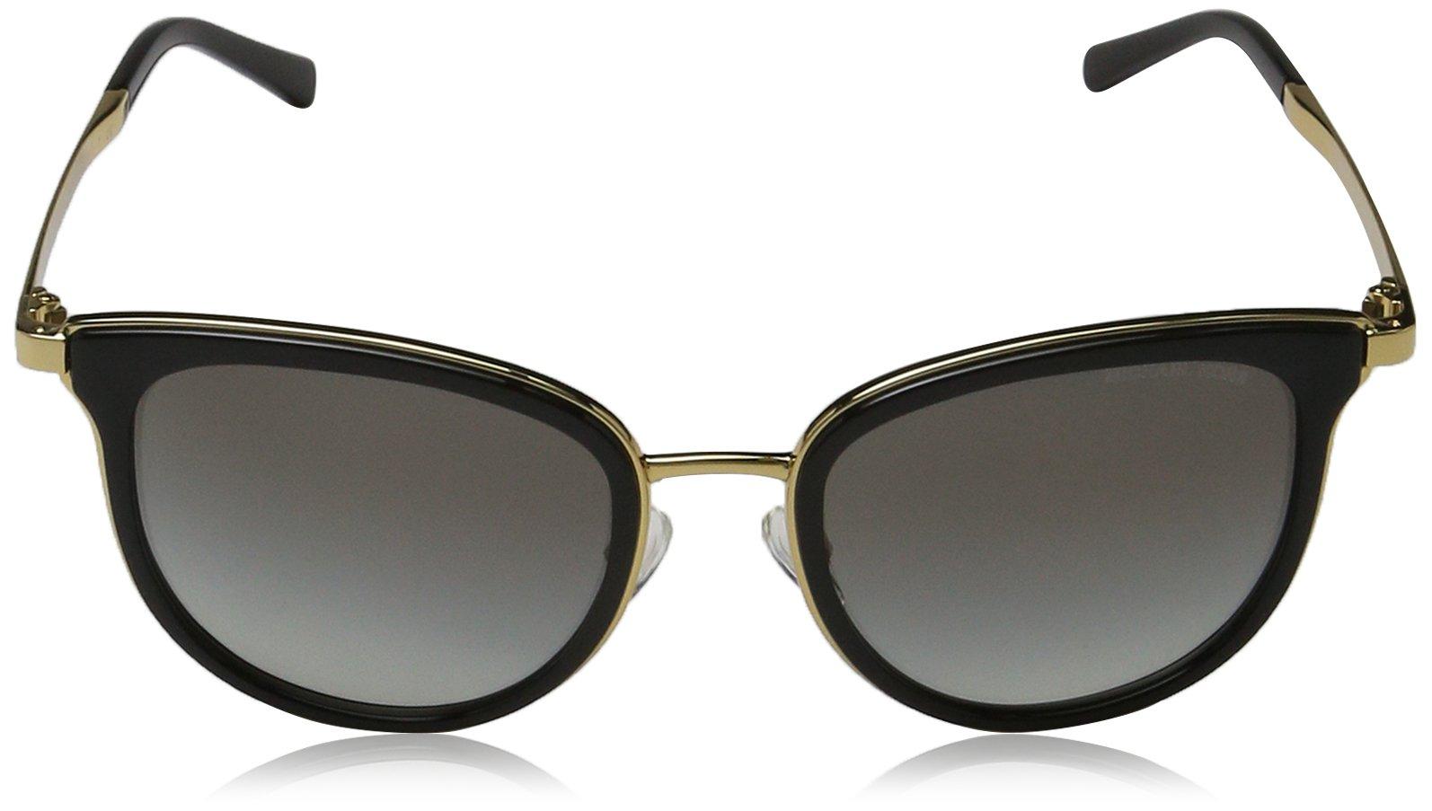 Michael Kors Women's Adrianna I MK1010 Black/Gold Sunglasses by Michael Kors (Image #2)