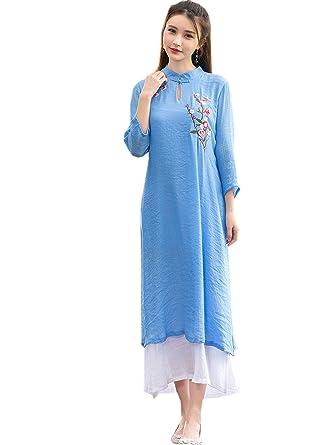 Amazon Com Yuelian Women S Spring Double Layers Loose Tang Suit