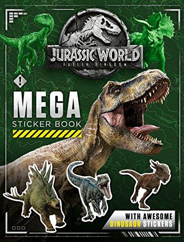 Jurassic World Fallen Kingdom Mega Sticker Book ()