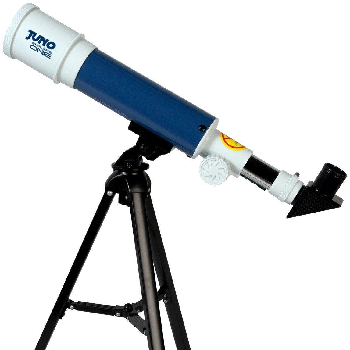 ExploreOne Kids Educational Telescope, 50mm Apeture Astronomy Refracter Telescope 360mm AZ Mount, Travel Scope with Tripod, Portable Telescope Gift for Kids Educational &Beginners
