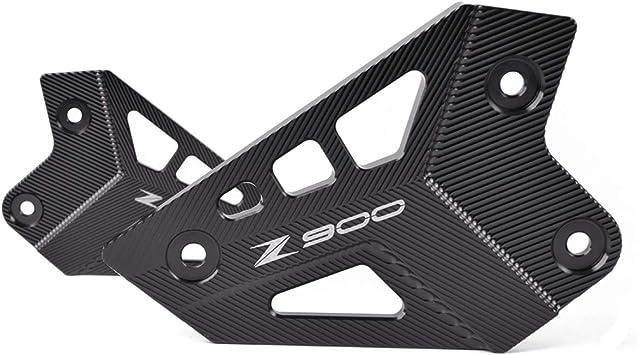 Z900 Fußrasten Set Cnc Aluminum Fussrasten Halter Für Kawasaki Z900 2017 2019 1 Paar Shwarz Auto