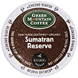 Green Mountain Coffee Fair Trade Organic Sumatran Reserve, 24-Count K-Cups For Keurig Brewers (Pack of 2)