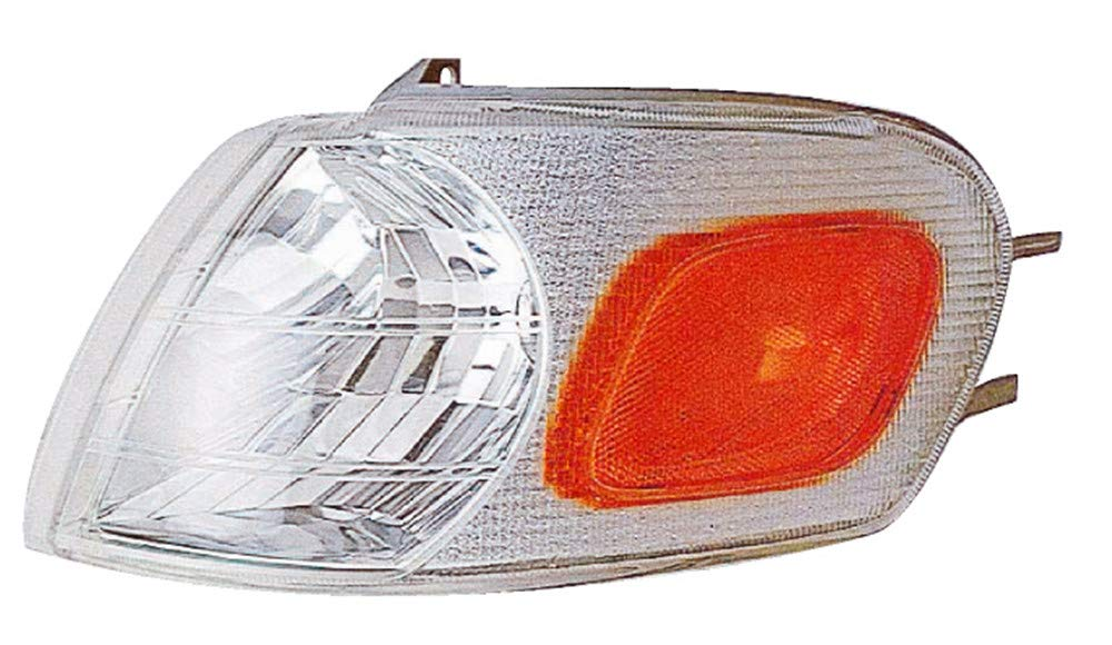 For 1997 1998 1999 2000 2001 2002 2003 2004 Chevrolet Chevy Ventur Oldsmobile Silhouette Pontiac Trans Sport//Montana Turn Signal Corner Light Lamp Passenger Side Replacement