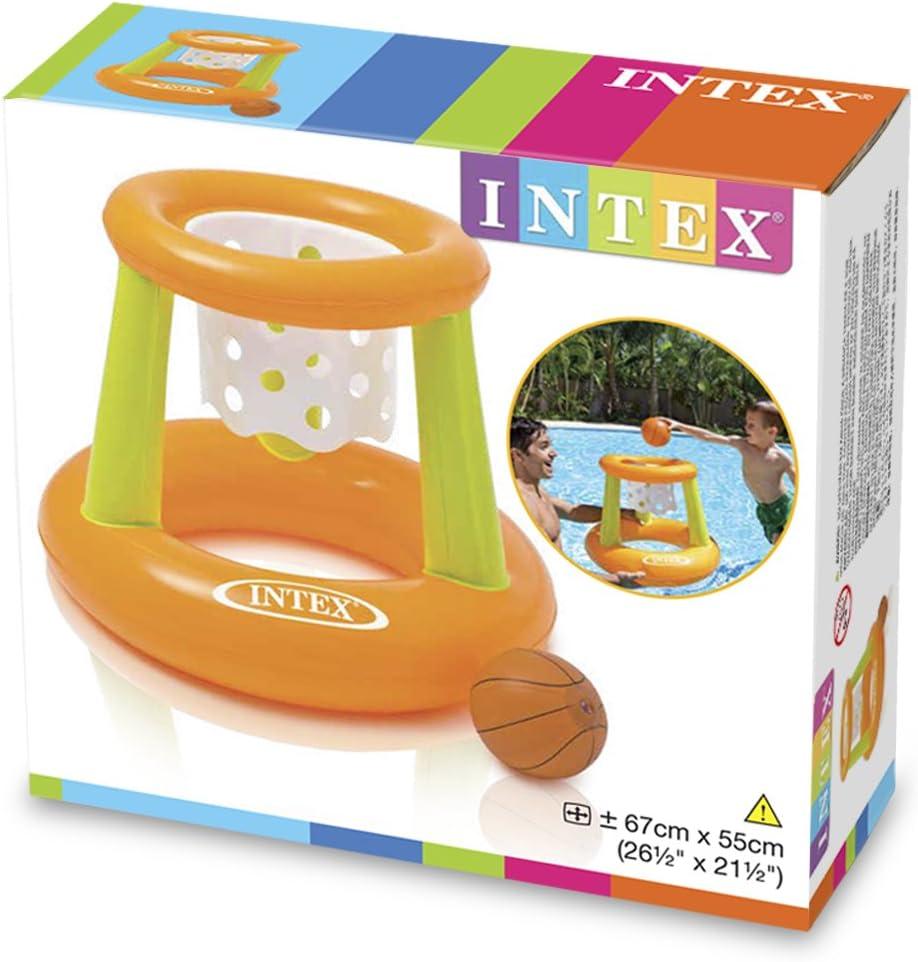 Intex 58504NP - Canasta hinchable y flotante 67 x 55 cm: Amazon.es ...