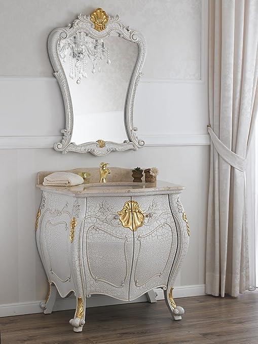 Simone Guarracino Como lavabo 2 porte e specchio stile Barocco ...