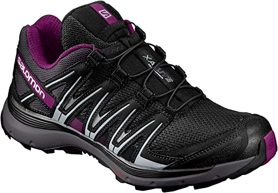 Salomon XA Lite W Zapatillas de trail running Mujer, Negro/Violeta (Black/Magnet/Grape Juice), 44 EU (9.5 UK): Amazon.es: Zapatos y complementos
