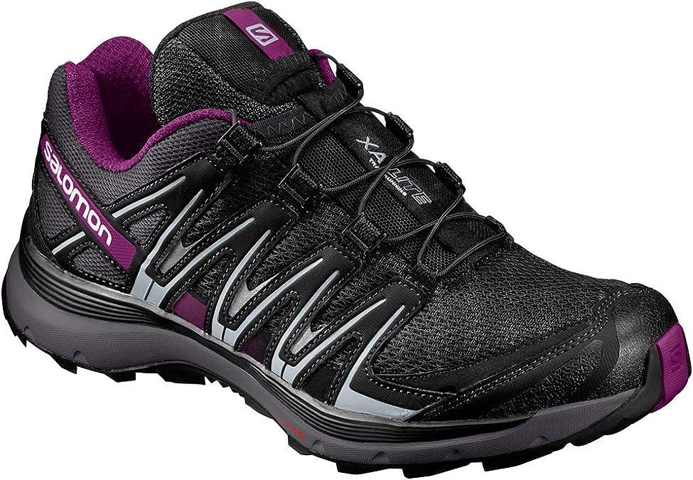Salomon XA Lite W Zapatillas de trail running Mujer, Negro/Violeta (Black/Magnet/Grape Juice), 44 EU (9.5 UK): Amazon.es: Zapatos y complementos