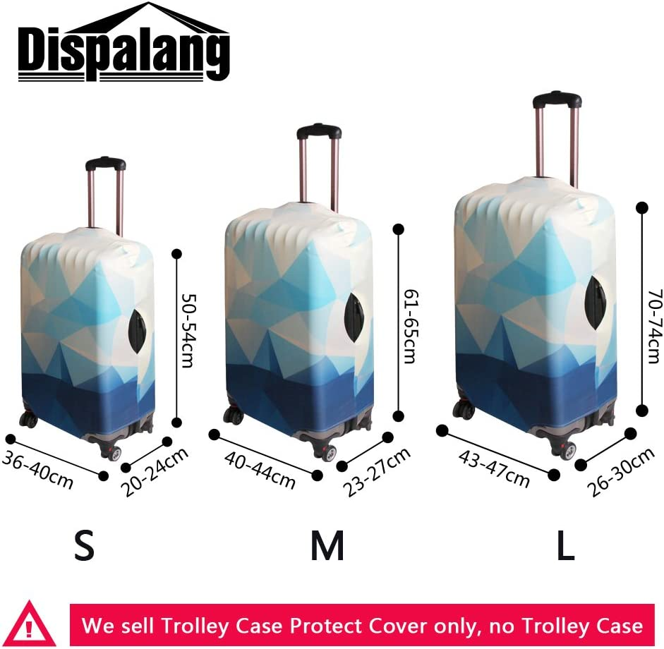 Dispalang Cool Mussic Luggage Cover Art Suitcase Protector Cover Patterns Travel Accessories